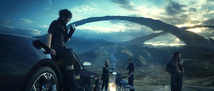 Final Fantasy XV terá filme 3D CG e já temos trailer