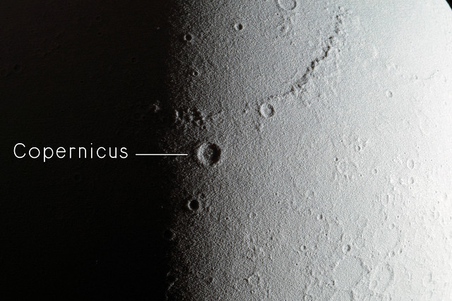View of Copernicus crater