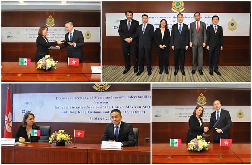 Firman México y Hong Kong acuerdo en materia de colaboración aduanera