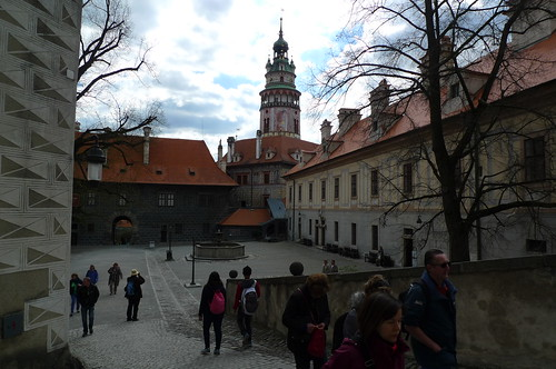 Cesky Krumlov, South Bohemia, Czech