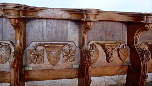 Blakeney - St Nicholas - Choir Stalls