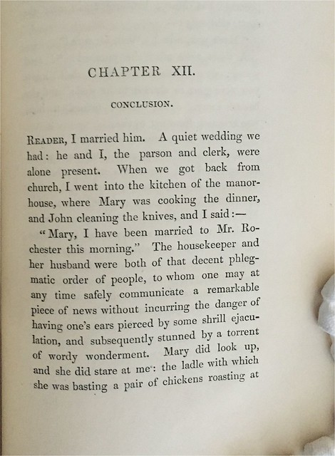 Jane Eyre conclusion