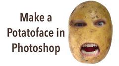 Make a Potato Face in Photoshop