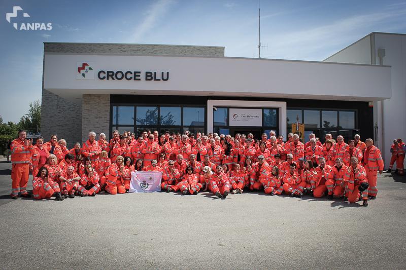 L'inaugurazione della sede della Croce Blu di Mirandola