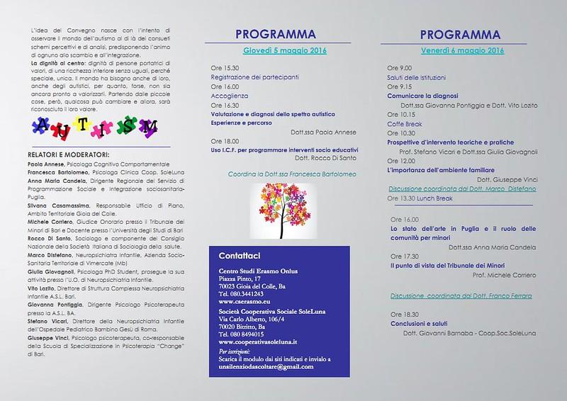 autismo programma