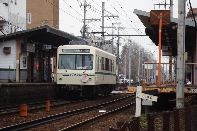 2016/01 叡山電車×ご注文はうさぎですか?? ヘッドマーク車両 #19