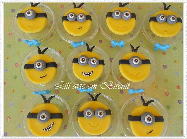 Minions de biscuit