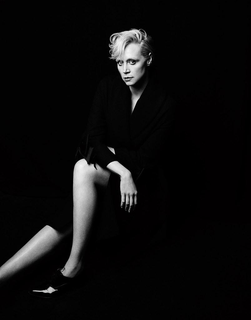 Гвендолин Кристи — Фотосессия для «Interview» 2015 – 5
