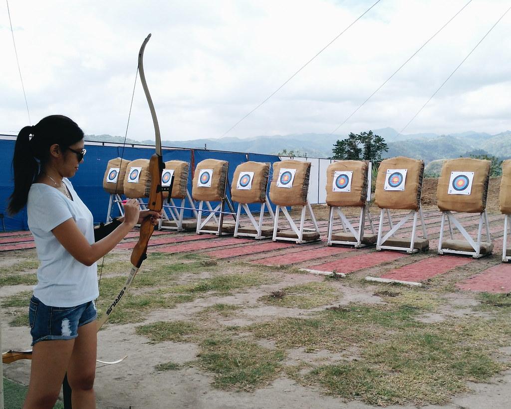 archery maze sandbox porac pampanga