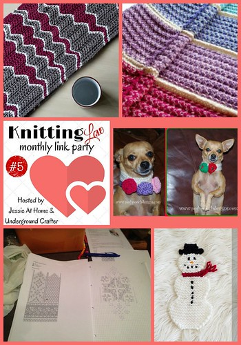 Knitting Love Monthly Link Party #5 - January 2015