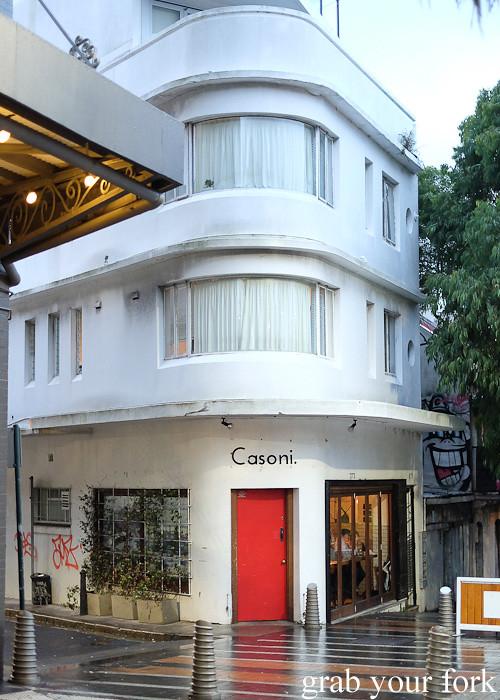 Casoni Italian restaurant, Darlinghurst
