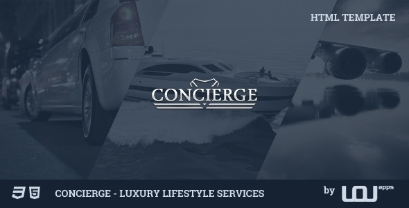 ThemeForest Concierge v2.0 – Luxury Lifestyle Services HTML