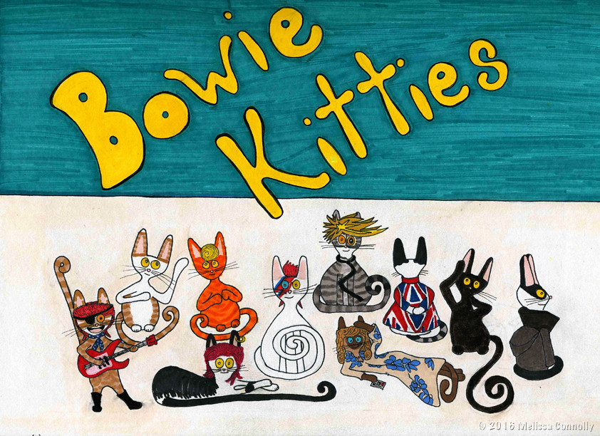 Bowie Kitties (January 28, 2016)
