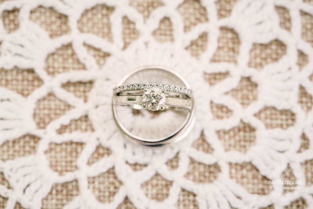 Wedding Rings - Prince George Wedding Photography