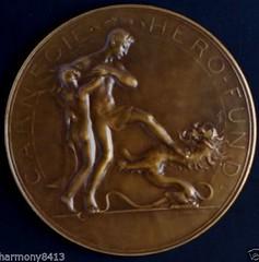 Belgian Carnegie hero Fund medal reverse