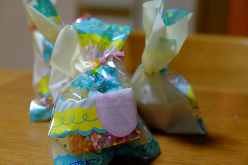 バレンタインの手作りカップケーキ