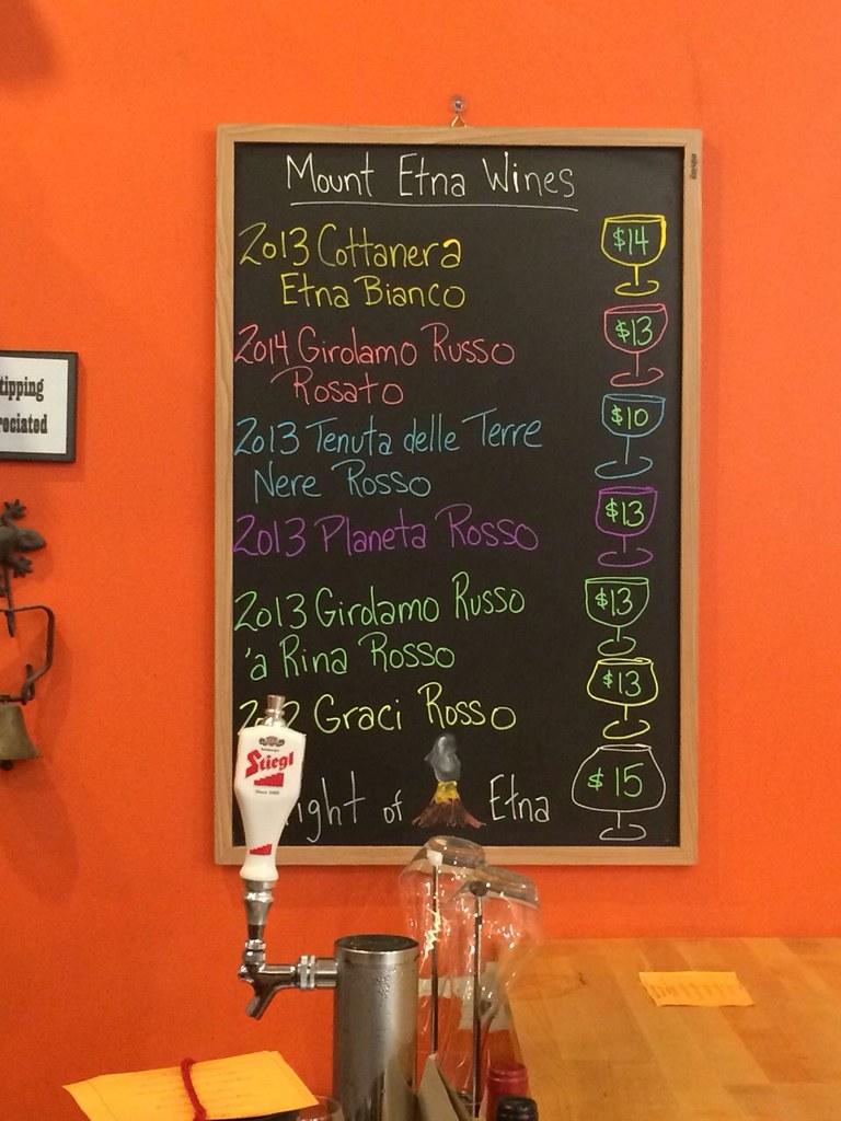 Mt. Etna Wine Tasting at William Cross Wine Merchants 1