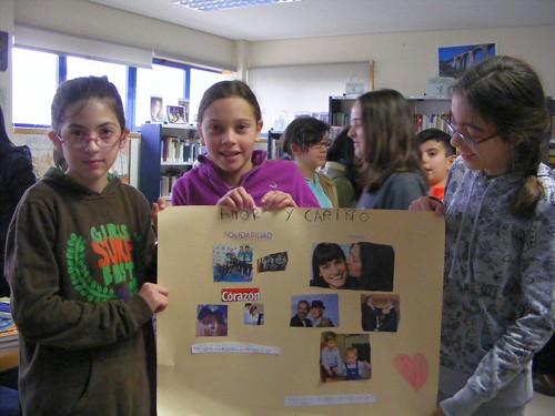 Visita do CEIP Laredo á Biblioteca de Chapela (1)