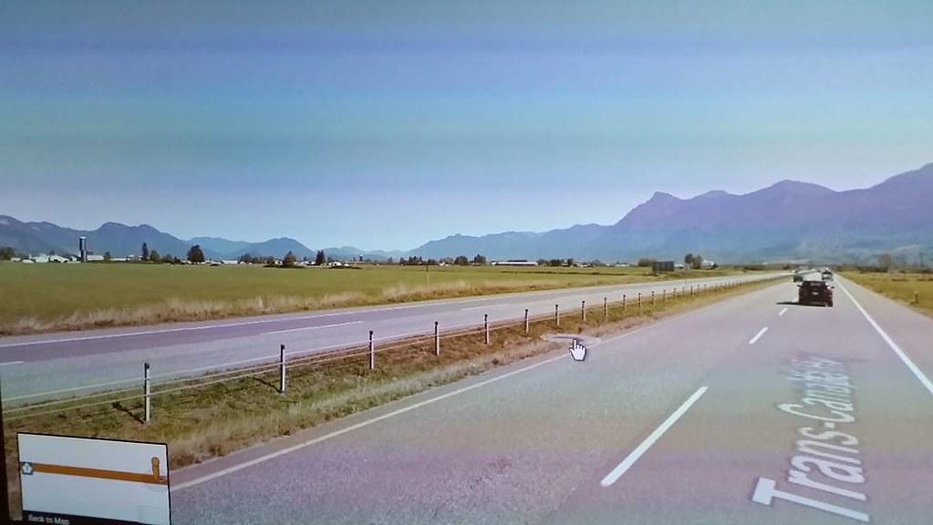 Grain silo #glitch in Google streetview #ridingthroughwalls