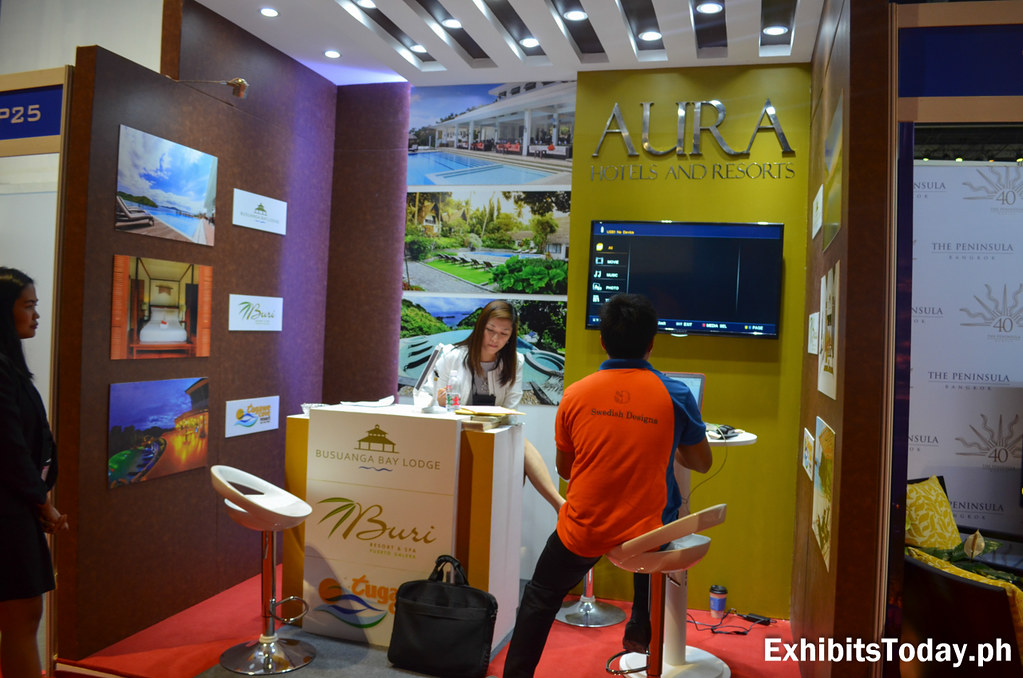 Aura Hotels Exhibit Booth