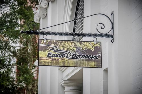 Edisto Outdoors Street Sign