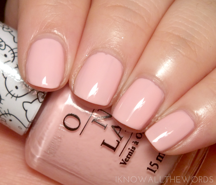 Hello Kitty collection by OPI Small + Cute = heart