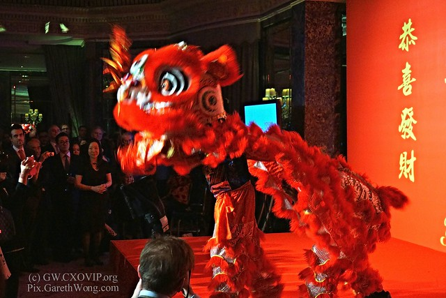 Lion dance throwing out fire crackers at CNYCelebration2016 from RAW _DSC3412