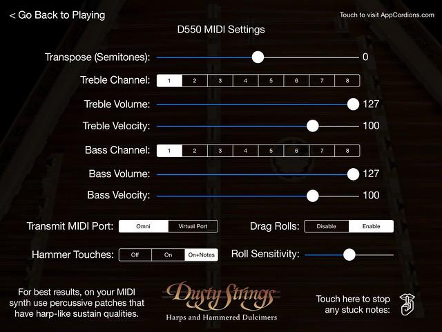 D550 Controls