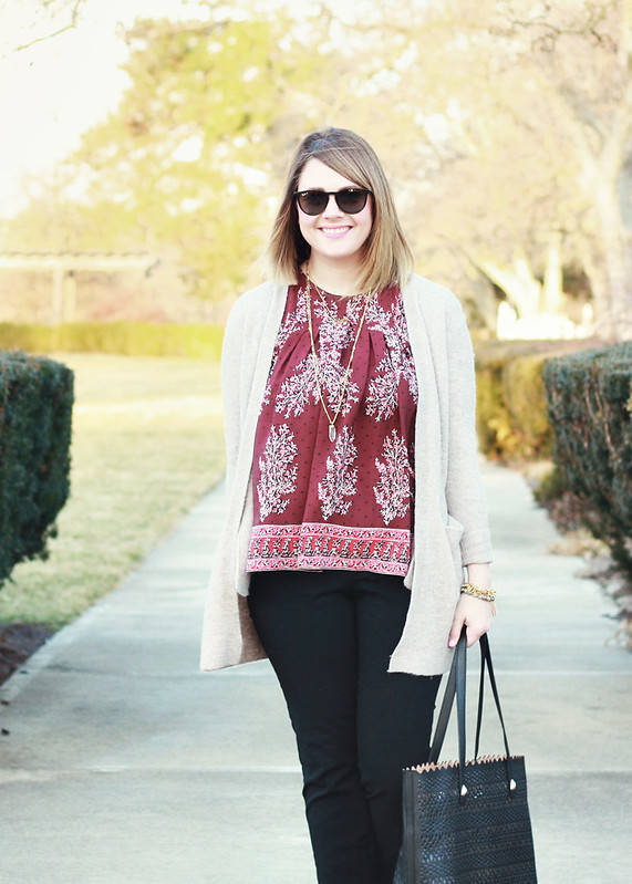 Madewell Floral Top 2