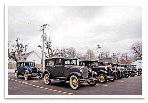classic ford car modela vintage ky historic lancaster restored preserved grandtheatre ckmarc centralkymodelarestorersclub