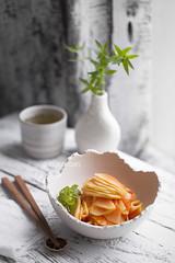 Candied unripe Papaya