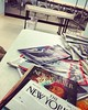 Great Boston area. Where the laundromat features @newyorkermag, @vanityfair and @time readings in the waiting area. #LaVidaAmericana