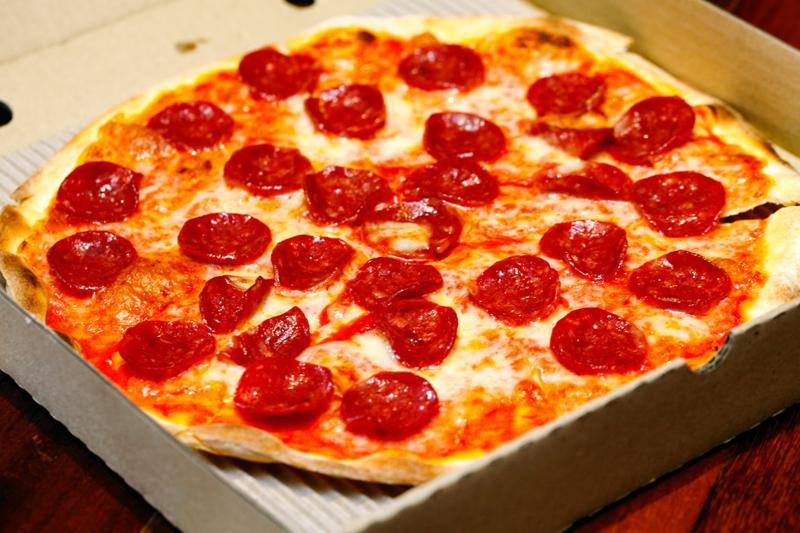 La Risata Beef Pepperoni Pizza