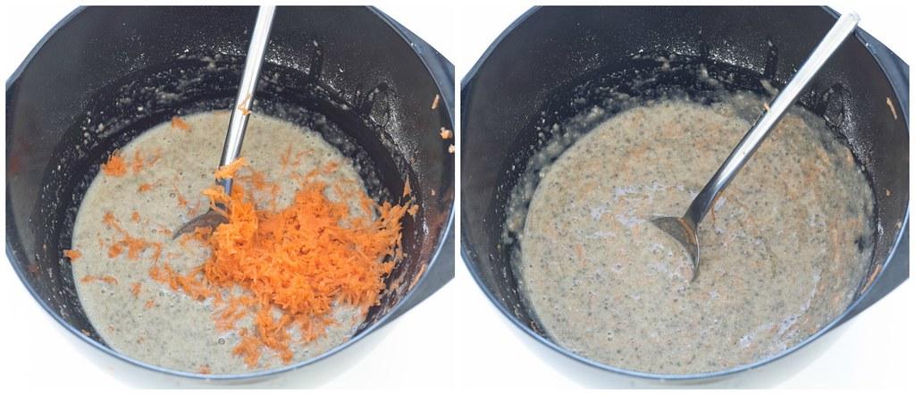 Chiavaffel med ost, ruccola og parmaskinke