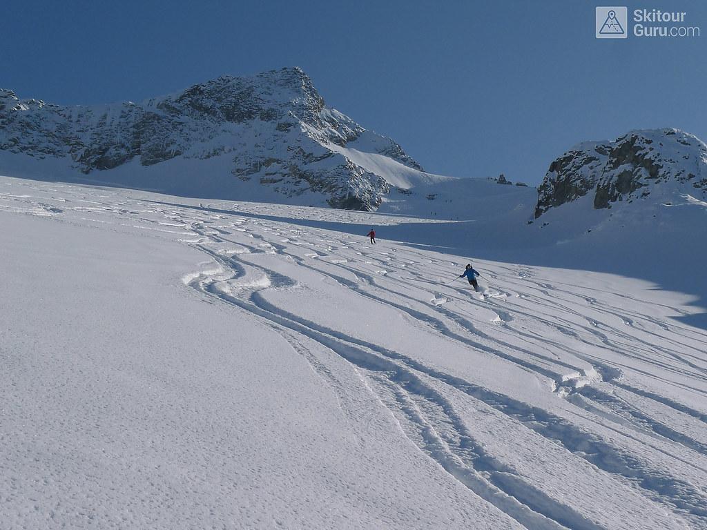 Kraulscharte Stubaiské Alpy Österreich foto 08