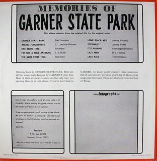 Memories of Garner State Park