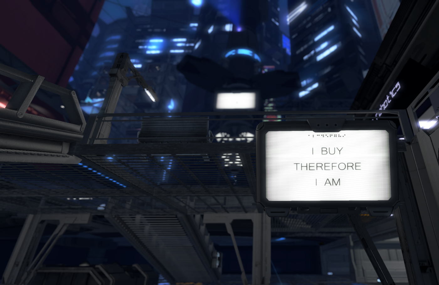 Sign at Insilico's central plaza