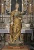 La statua di Sant'Eufemia del Mantegna