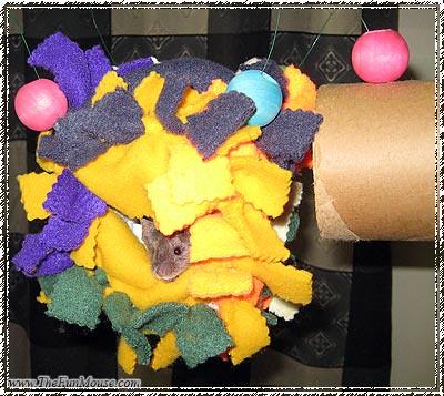 How to: No Sew Fleece Cube / Box Shelf 25694632044_b449f9e72f