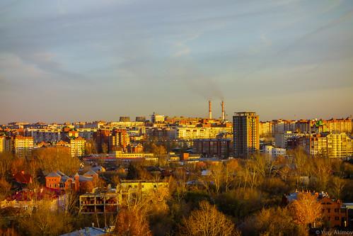 City map Tomsk