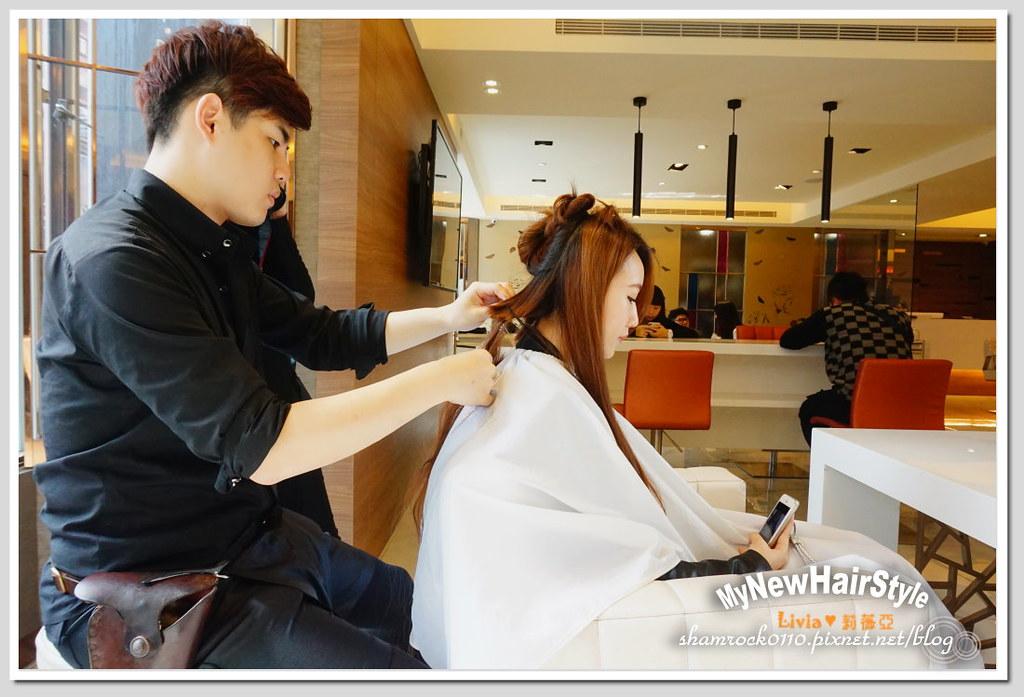 HappyHairTon短髮+墨綠色染髮 - 04