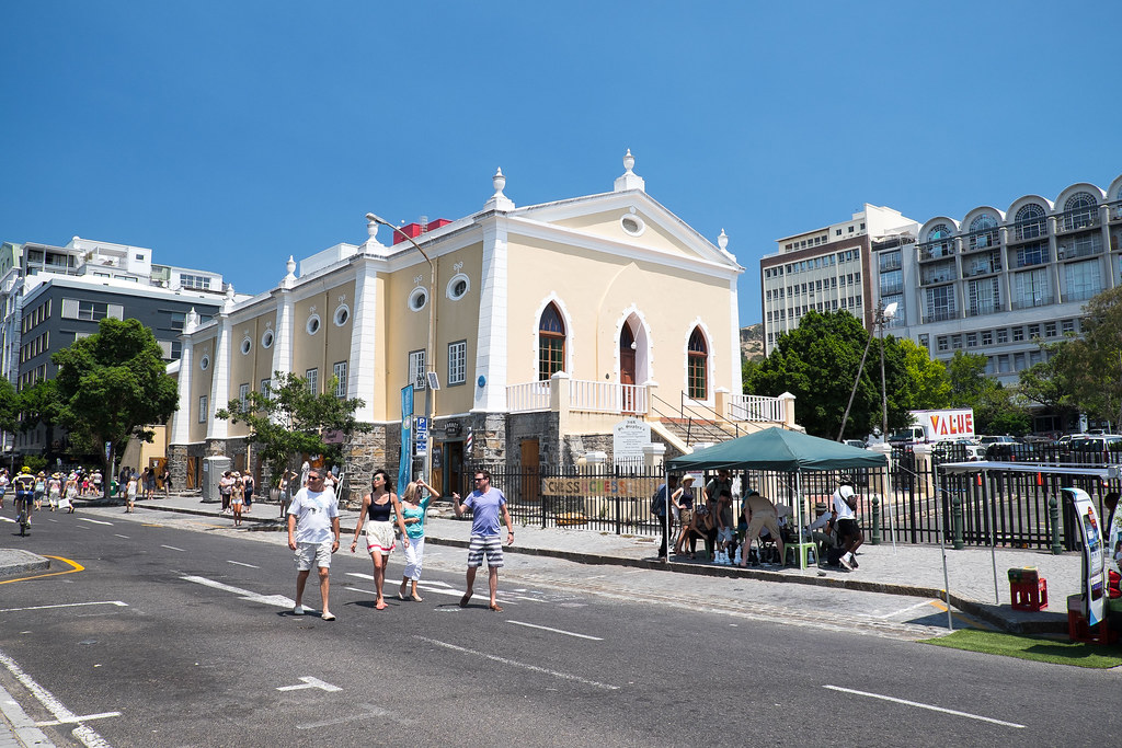 historical slave market building - cape town - south africa
