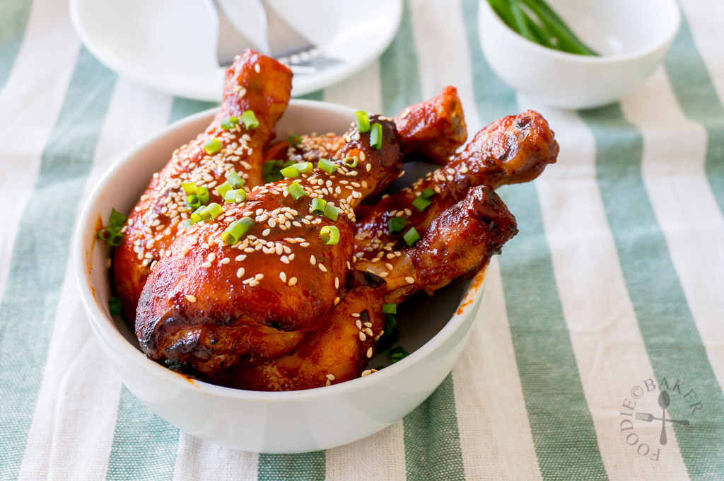 Baked spicy korean chicken drumsticks forumfinder Image collections
