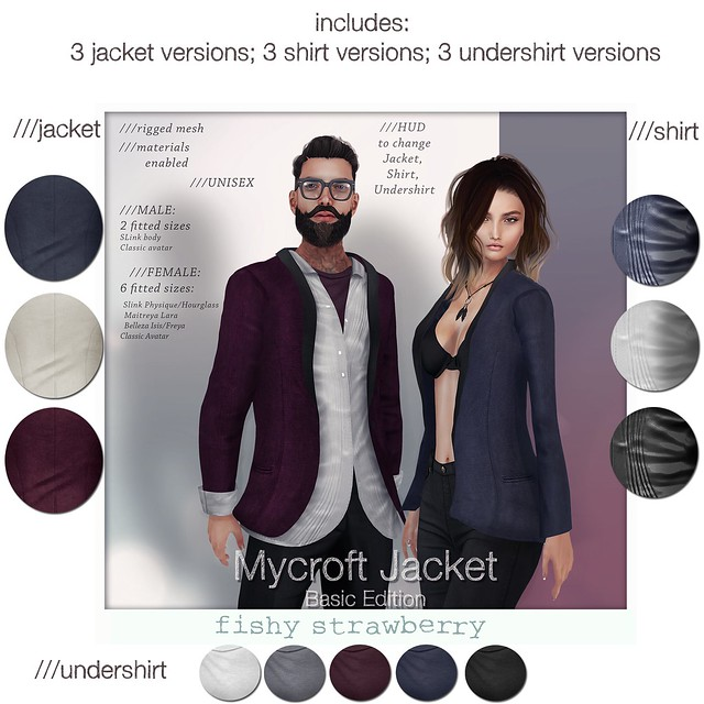 Mycroft Jacket - BASIC EDITION