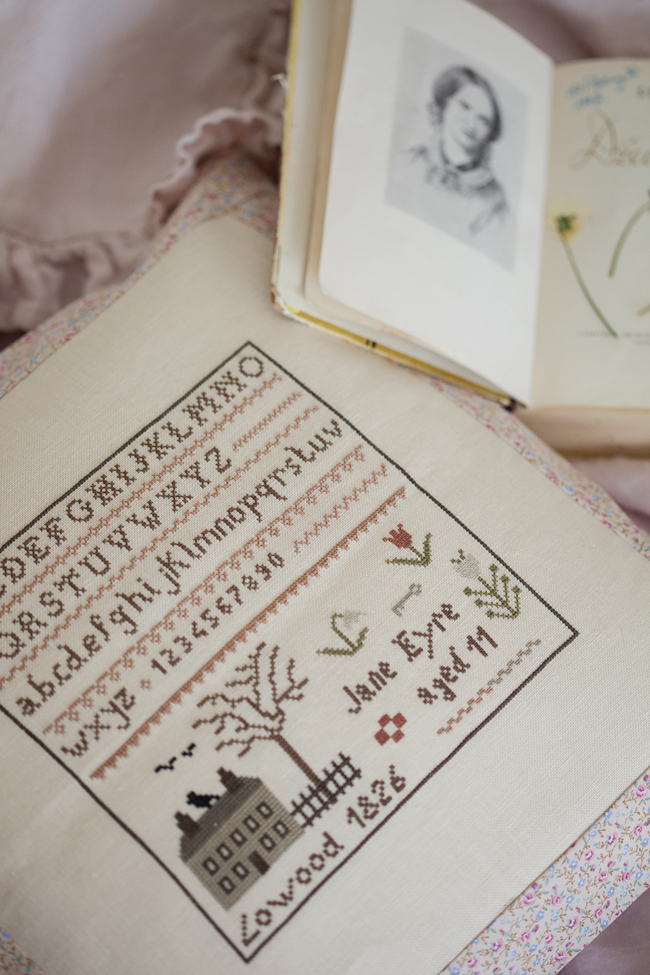 The Little Stitcher -  Jane Eyre Sampler