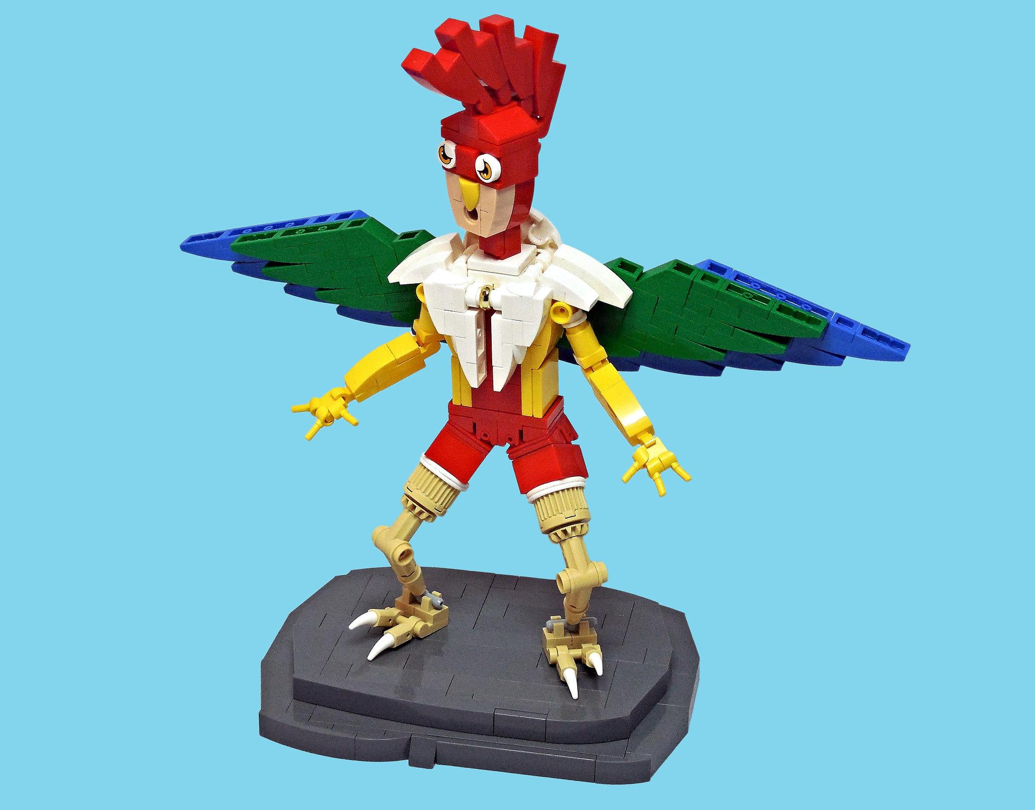 LEGO® MOC by Vitreolum: Parrot Laddie