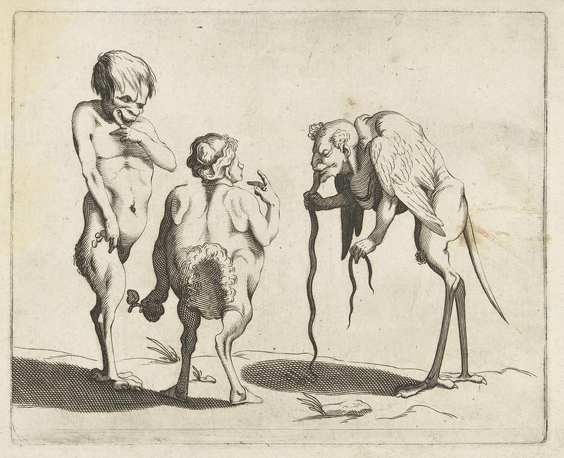Arent van Bolten - Grotesque Creatures 12, 1604-1616