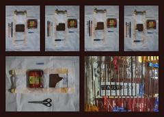 Tapestry Diary 21.3. Eating Mourning Bread in memoriam colleague actor Kollege Schauspieler Alexander Lhotzky (1959 - 2016) bio Trauerbrot essen - Tagebuch Teppich Tapisserie Tagebuch 21. März Karwoche