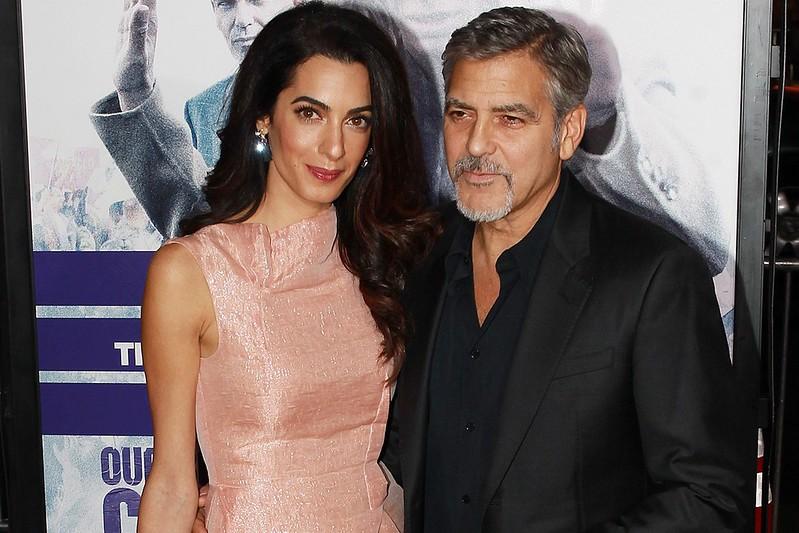 Фото Джорджа Клуни с бородой