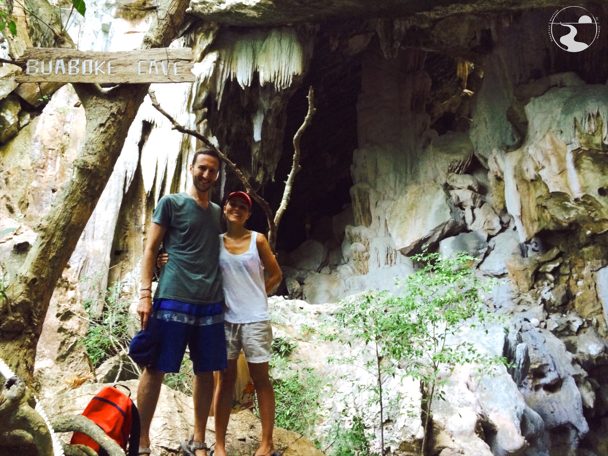 Entrada de la cueva Buaboke